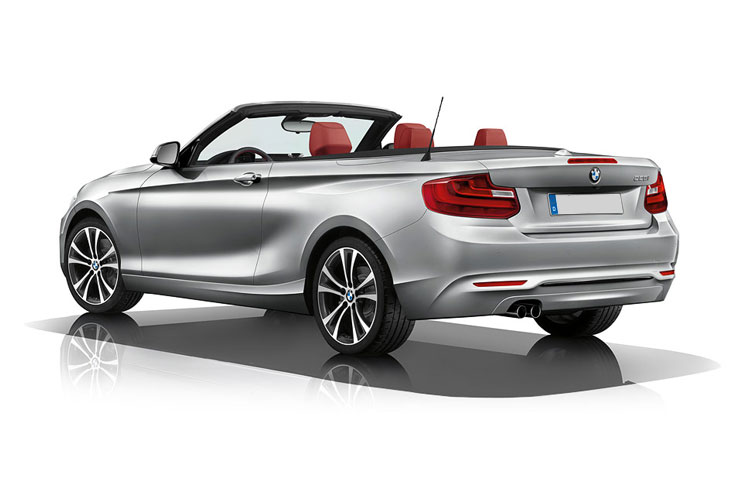 BMW 2 Series 220 Convertible 2.0 i 184PS Sport 2Dr Auto [Start Stop] back view