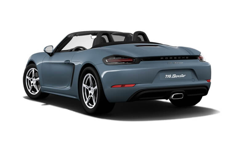 Porsche 718 Boxster Convertible 2.0 T 300PS T 2Dr PDK [Start Stop] back view