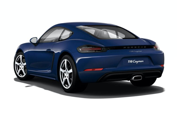 Porsche 718 Cayman Coupe 2.0 T 300PS T 2Dr PDK [Start Stop] back view