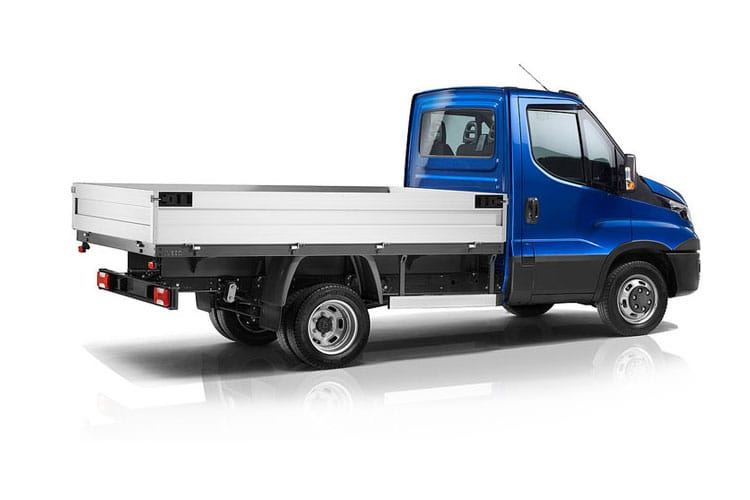 Iveco Daily 35C 3000 DRW 3.0 D HPI 18V DRW 180PS Business Dropside Manual back view