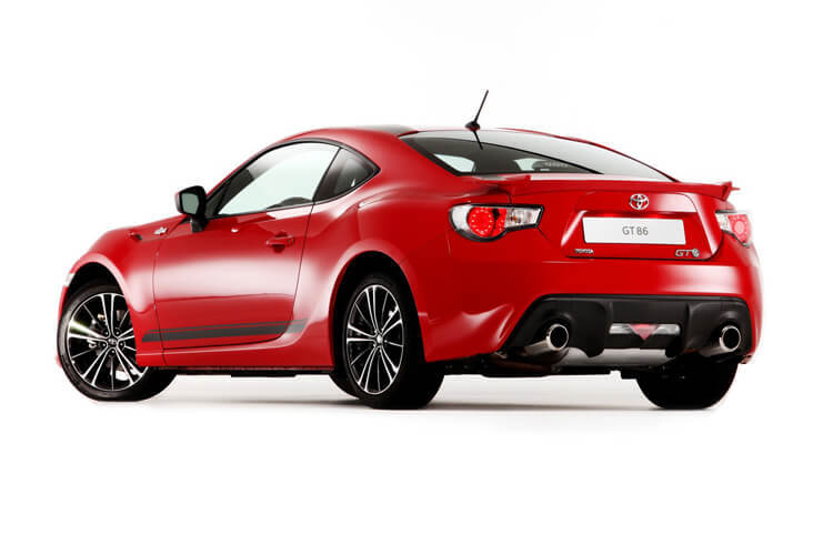 Toyota GT86 Coupe 2Dr 2.0 Boxer D-4S 200PS Club Series Blue Edition 2Dr Auto [Touch & Go Performance] back view