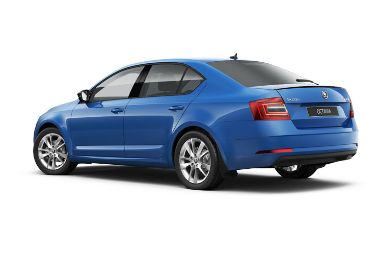 Skoda Octavia Hatch 5Dr 1.0 TSi 110PS SE First Edition 5Dr Manual [Start Stop] back view