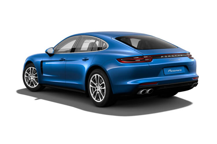 Porsche Panamera Saloon 4wd 2.9 T V6 440PS 4S 4Dr PDK [Start Stop] back view