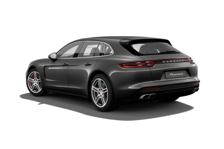 Porsche Panamera Sport Turismo 4wd 4.0 V8 PiH 17.9kWh 700PS Turbo S E-Hybrid 5Dr PDK [Start Stop] back view