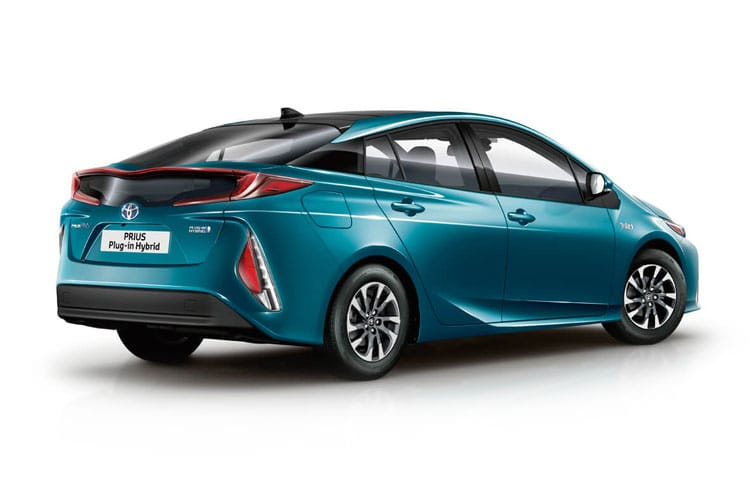 Toyota Prius PiH Hatch 5Dr 1.8 VVT PiH 8.8 kWh 122PS Business Edition Plus 5Dr CVT [Start Stop] back view