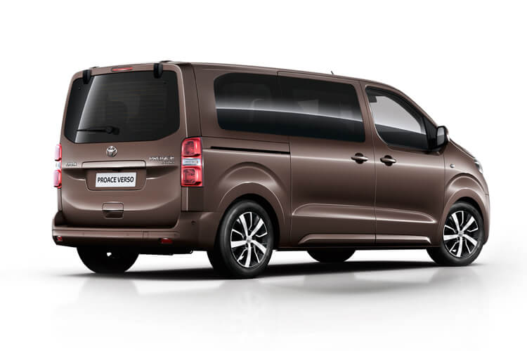 Toyota PROACE Verso Medium 2.0 D FWD 180PS Family MPV Auto [Start Stop] [8Seat Premium] back view