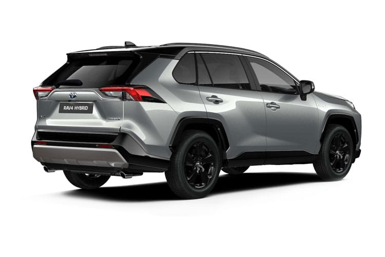 Toyota RAV4 SUV 4wd 2.5 VVT-h 222PS Design 5Dr CVT [Start Stop] back view