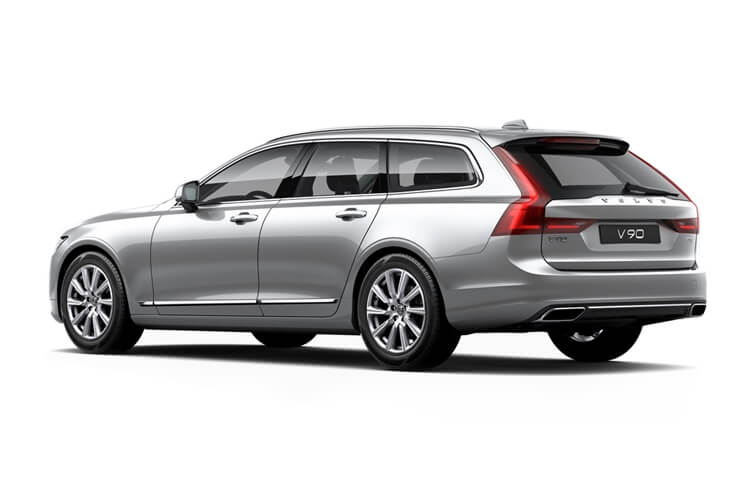 Volvo V90 Estate AWD PiH 2.0 h T6 11.6kWh 340PS Inscription 5Dr Auto [Start Stop] back view