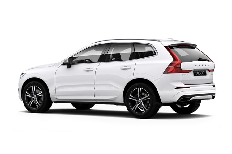 Volvo XC60 SUV AWD 2.0 B4 MHEV 197PS Momentum 5Dr Auto [Start Stop] back view
