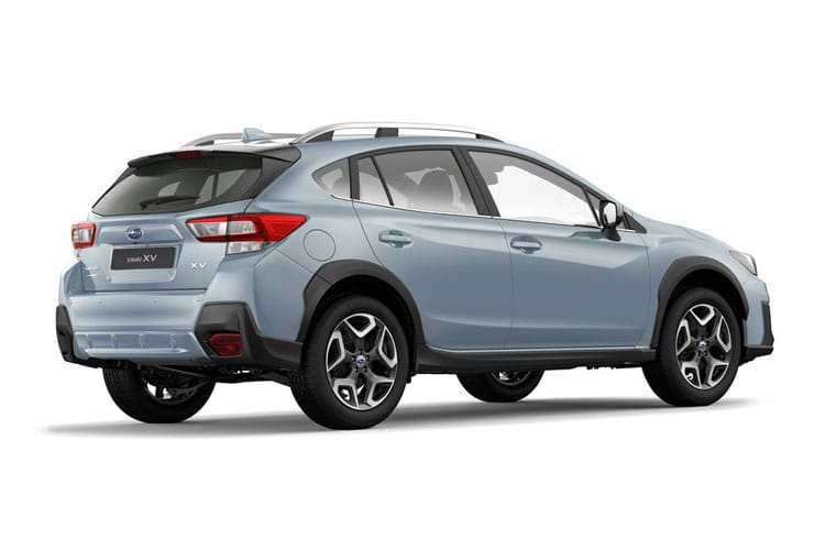 Subaru XV SUV 1.6 i 114PS SE 5Dr Lineartronic [Start Stop] back view