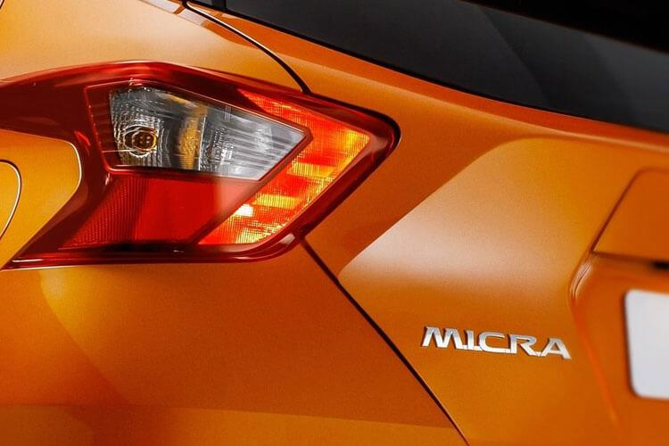 Nissan Micra Hatch 5Dr 1.0 IG-T 92PS Visia 5Dr Manual [Start Stop] detail view