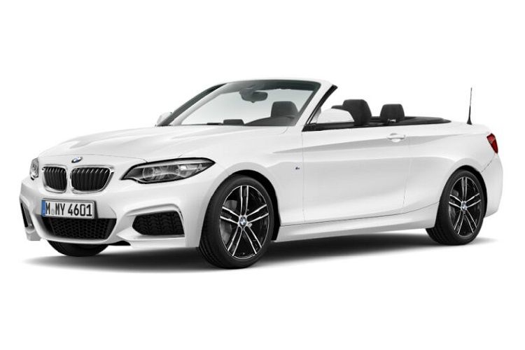 BMW 2 Series 220 Convertible 2.0 d 190PS Sport 2Dr Auto [Start Stop] [Tech II] front view