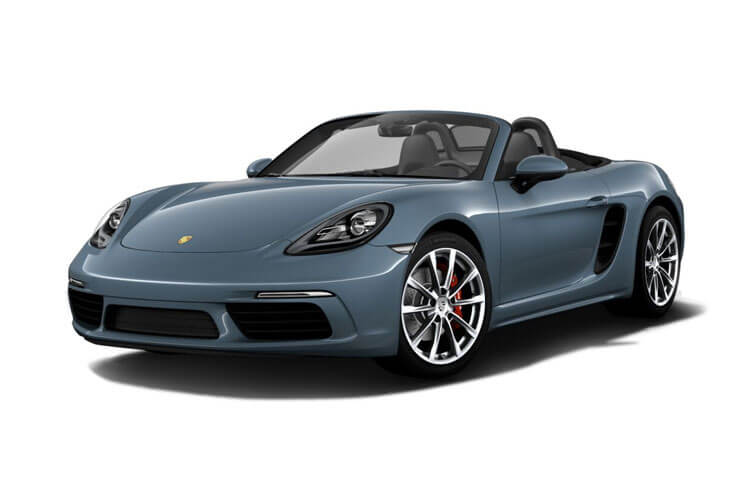 Porsche 718 Boxster Convertible 2.5 T 350PS S 2Dr Manual [Start Stop] front view
