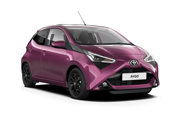 Toyota Aygo Funroof Hatch 5Dr 1.0 VVTi 71PS x-trend 5Dr x-shift front view