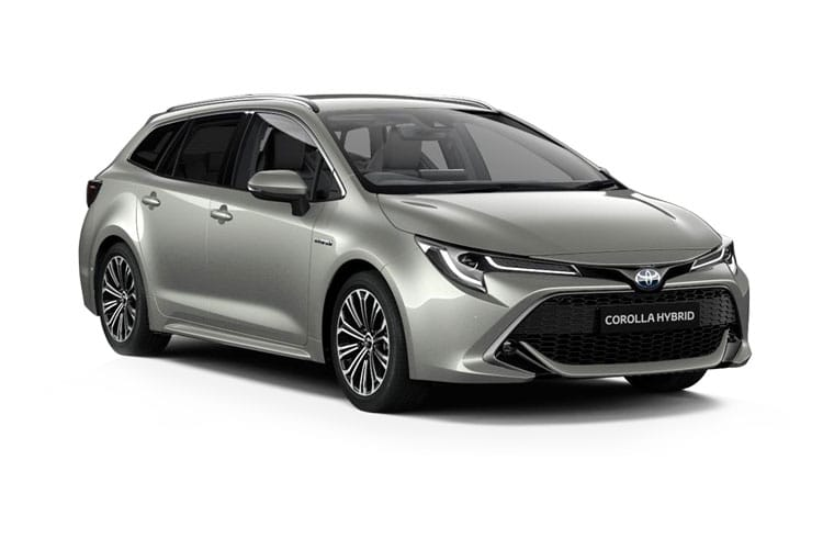 Toyota Corolla Touring Sports 2.0 VVT-h 184PS Excel 5Dr CVT [Start Stop] [Pan Roof] front view