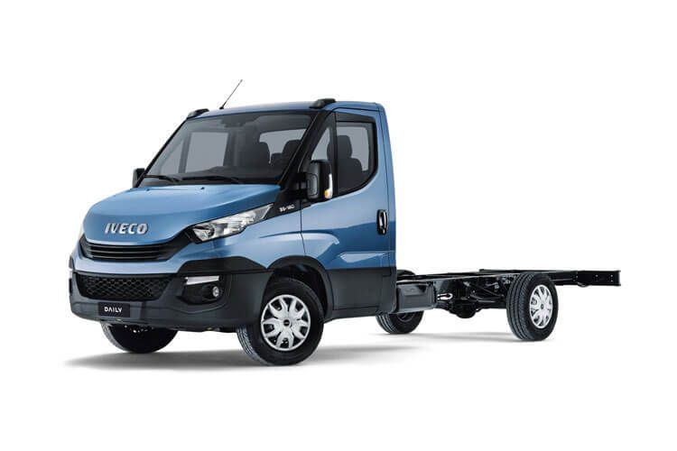 Iveco Daily HGV 40C 3450 DRW 3.0 D HPI 16V DRW 160PS  Chassis Double Cab Manual front view