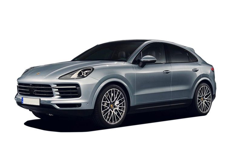 Porsche Cayenne Coupe 4wd 4.0 T V8 550PS Turbo 5Dr Tiptronic [Start Stop] front view