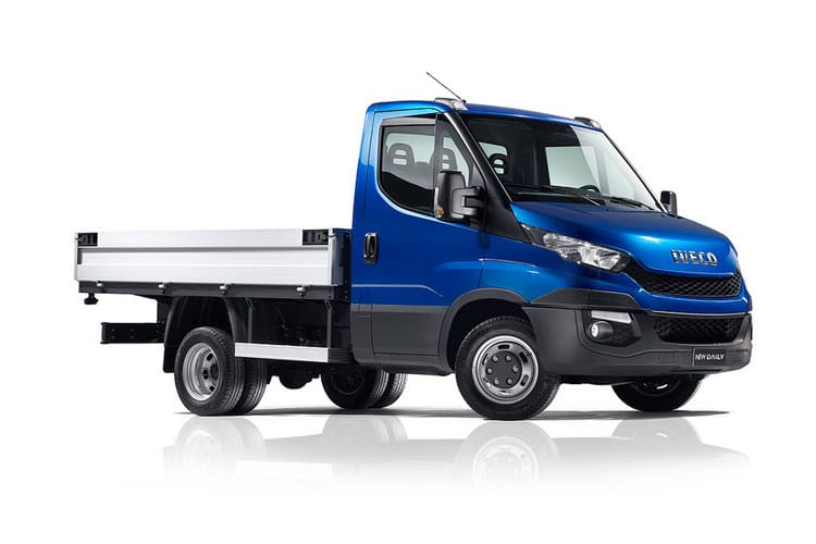 Iveco Daily 35C 3000 DRW 3.0 D HPI 18V DRW 180PS Business Dropside Manual front view