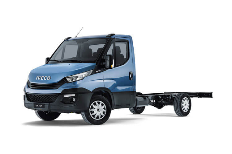Iveco Daily 35C 3450 DRW 3.0 D HPI 16V DRW 160PS  Chassis Double Cab Manual front view