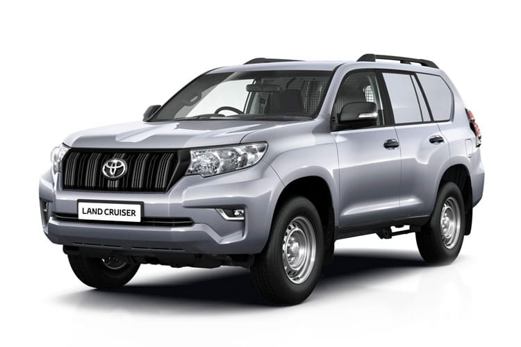 Toyota LandCruiser LCV LWB 4wd 2.8 D 4WD 177PS Active Van Auto [2Seat Navi] front view