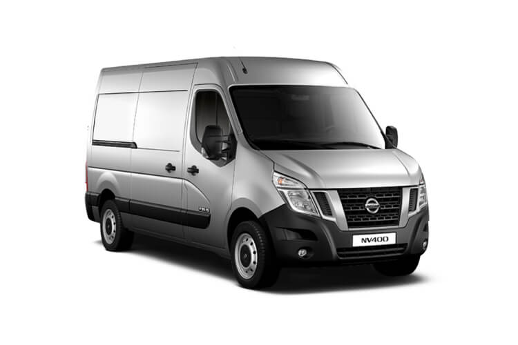 Nissan NV400 L2 35 FWD 2.3 dCi FWD 150PS Acenta Van High Roof Auto [Start Stop] front view