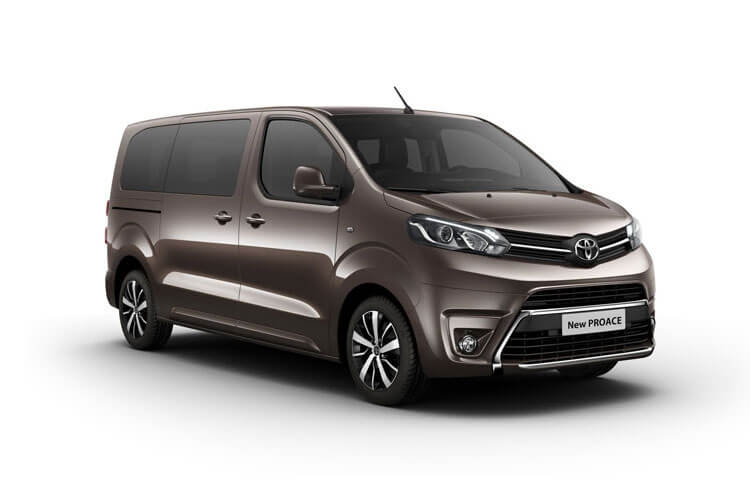Toyota PROACE Verso Medium 2.0 D FWD 180PS Family MPV Auto [Start Stop] [8Seat Premium] front view