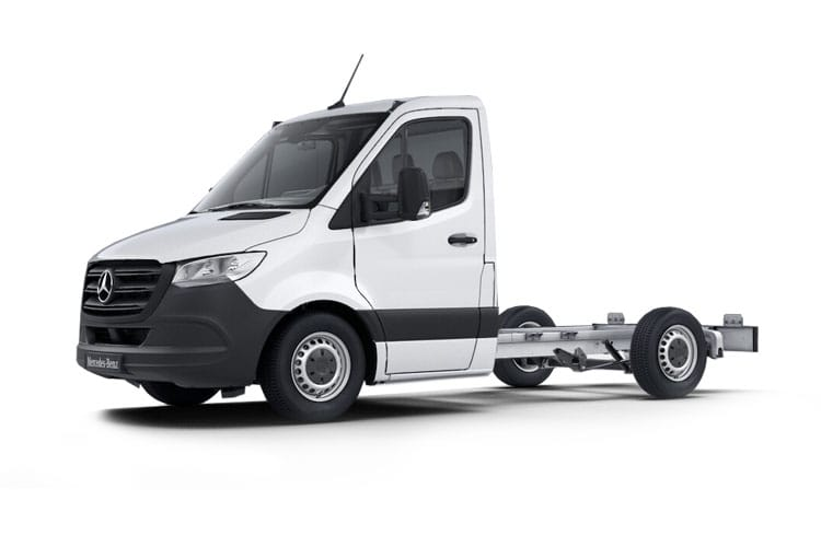 Mercedes-Benz Sprinter 315 L3 3.5t 2.0 CDi RWD 150PS Progressive Chassis Double Cab Manual [Start Stop] front view