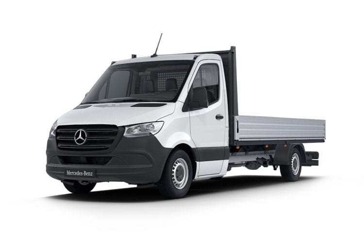 Mercedes-Benz Sprinter 319 L3 3.5t AWD 3.0 CDi V6 4WD 190PS  Dropside G-Tronic+ front view