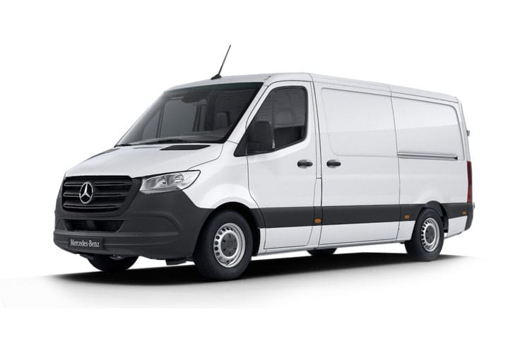 Mercedes-Benz Sprinter 317 L2 3.5t 2.0 CDi RWD 170PS Premium Van Manual [Start Stop] front view