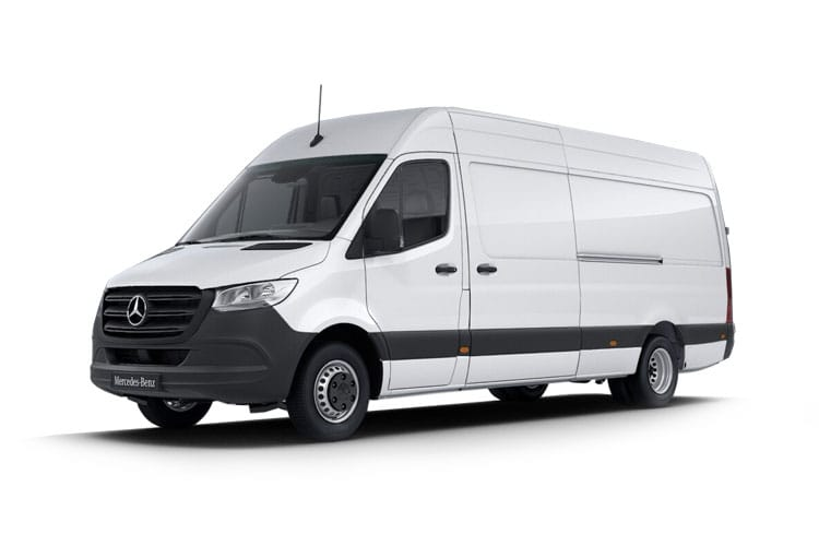 Mercedes-Benz Sprinter HGV 514 L2 5.0t 2.1 CDi DRW 143PS  Van High Roof G-Tronic+ front view