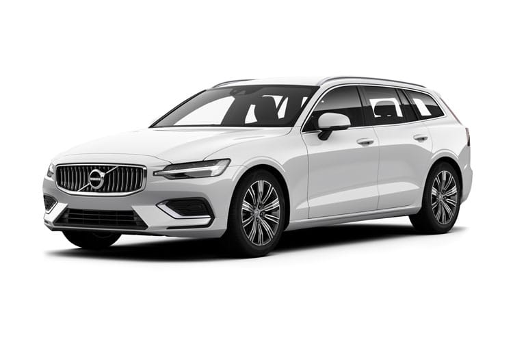 Volvo V60 Estate AWD 2.0 B6 MHEV 300PS R DESIGN 5Dr Auto [Start Stop] front view