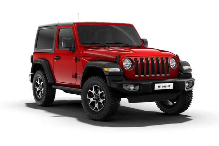Jeep Wrangler SUV 4Dr 2.2 MultiJetII 200PS Overland 4Dr Auto [Start Stop] front view