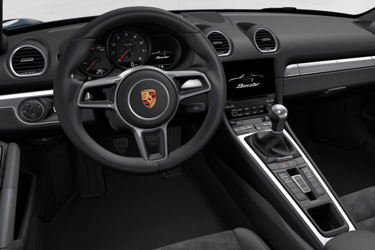 Porsche 718 Boxster Convertible 2.5 T 350PS S 2Dr Manual [Start Stop] inside view