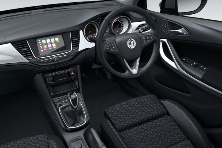 Vauxhall Astra Hatch 5Dr 1.4 i Turbo 145PS SE 5Dr CVT [Start Stop] inside view