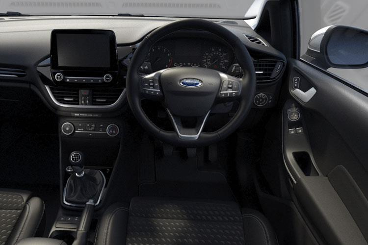 Ford Fiesta Hatch 5Dr 1.1 Ti-VCT 75PS Trend 5Dr Manual [Start Stop] inside view