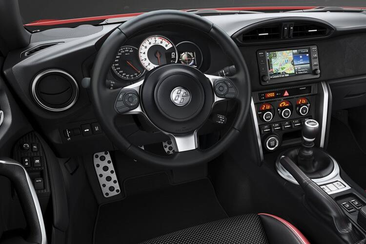 Toyota GT86 Coupe 2Dr 2.0 Boxer D-4S 200PS Club Series Blue Edition 2Dr Auto [Touch & Go Performance] inside view