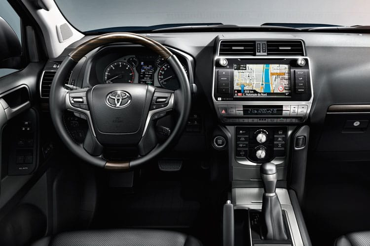 Toyota LandCruiser LCV LWB 4wd 2.8 D 4WD 177PS Active Van Auto [2Seat Navi] inside view