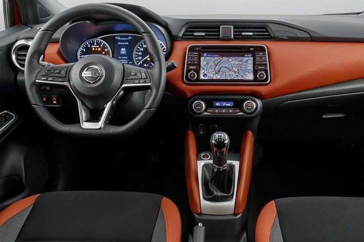 Nissan Micra Hatch 5Dr 1.0 IG-T 92PS Visia 5Dr Manual [Start Stop] inside view