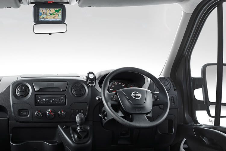 Nissan NV400 L2 35 FWD 2.3 dCi FWD 150PS Acenta Van High Roof Auto [Start Stop] inside view