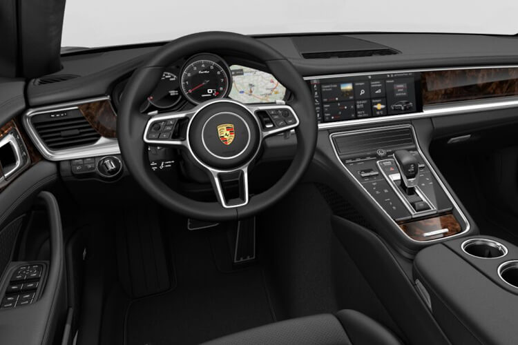 Porsche Panamera Sport Turismo 4wd 4.0 V8 PiH 17.9kWh 700PS Turbo S E-Hybrid 5Dr PDK [Start Stop] inside view