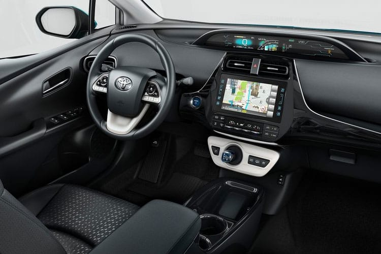 Toyota Prius PiH Hatch 5Dr 1.8 VVT PiH 8.8 kWh 122PS Business Edition Plus 5Dr CVT [Start Stop] inside view