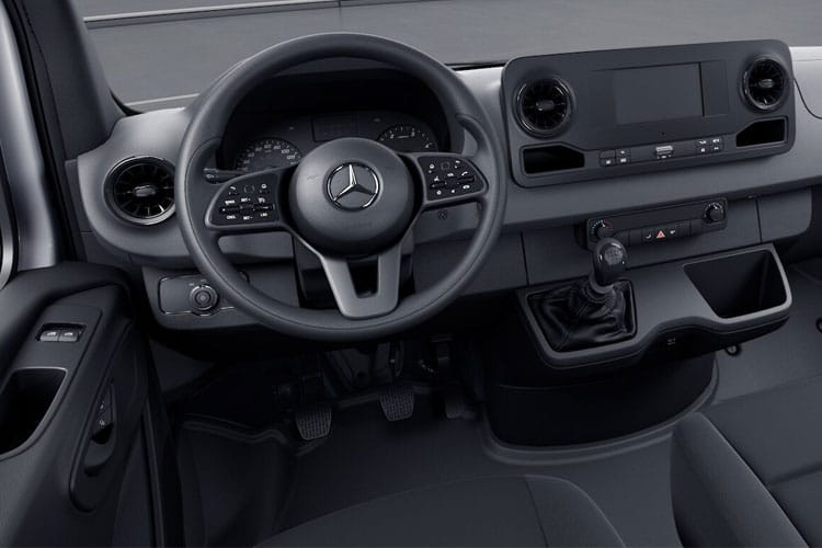 Mercedes-Benz Sprinter HGV 516 L3 5.0t AWD 2.1 CDi 4WD 163PS  Dropside Double Cab Manual inside view