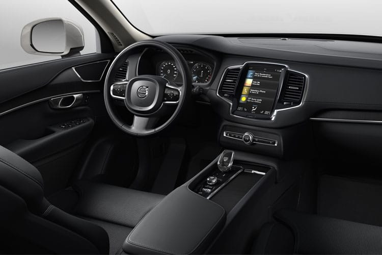 Volvo XC90 SUV 2.0 B6 MHEV 300PS R DESIGN Pro 5Dr Auto [Start Stop] inside view